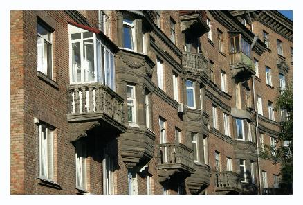 Again, another row of balconies...